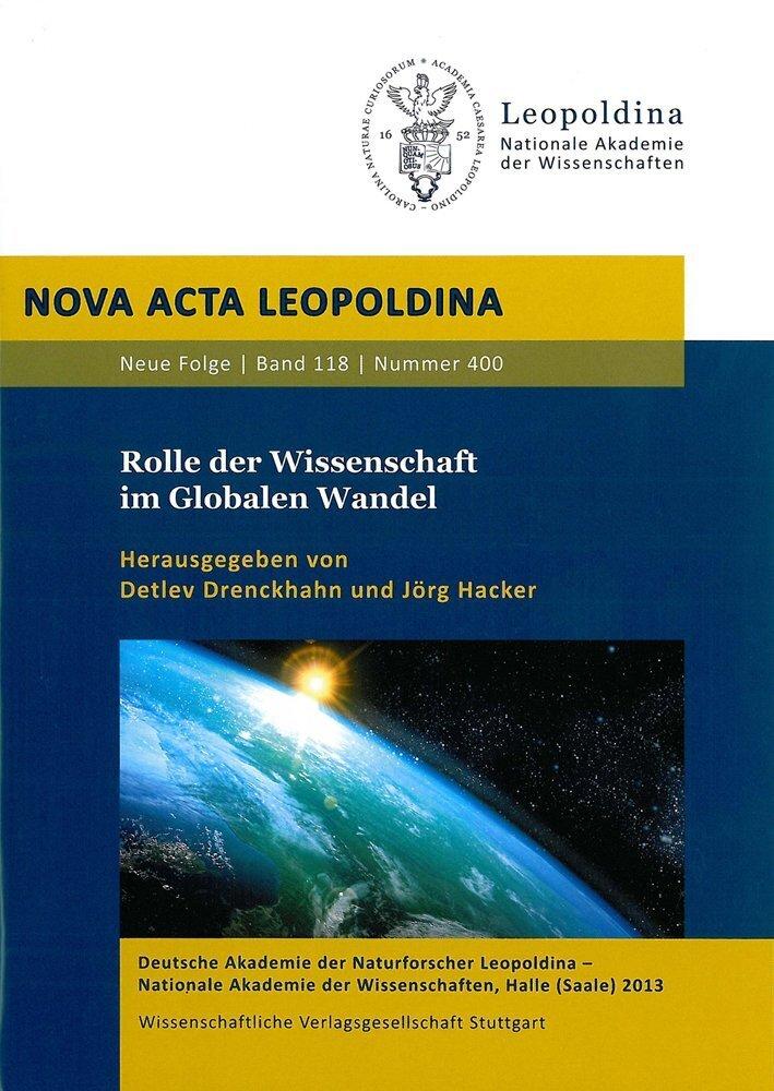 Rolle der Wissenschaft im Globalen Wandel als Buch von