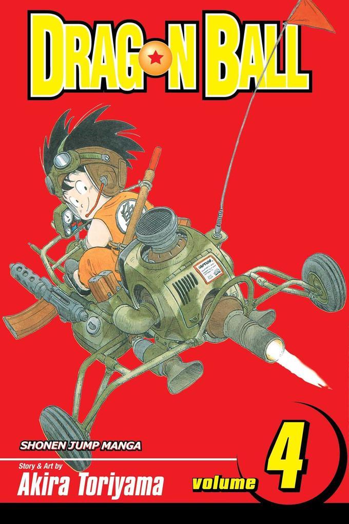 Dragon Ball, Vol. 4 als Taschenbuch