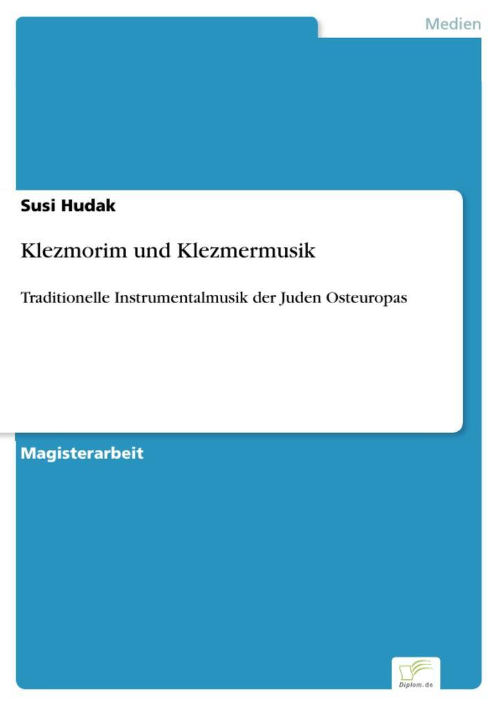 Klezmorim und Klezmermusik als eBook