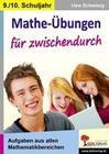 Mathe-Übungen für zwischendurch 9./10. Schuljahr