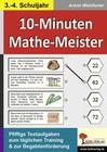 10-Minuten-Mathe-Meister 3./4. Schuljahr