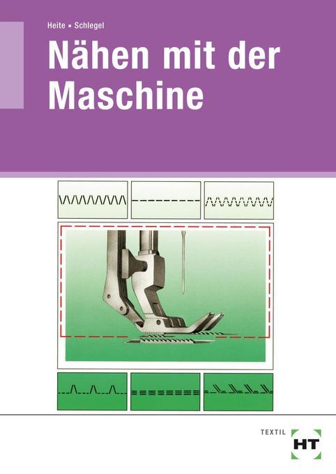 Nähen mit der Maschine als Buch