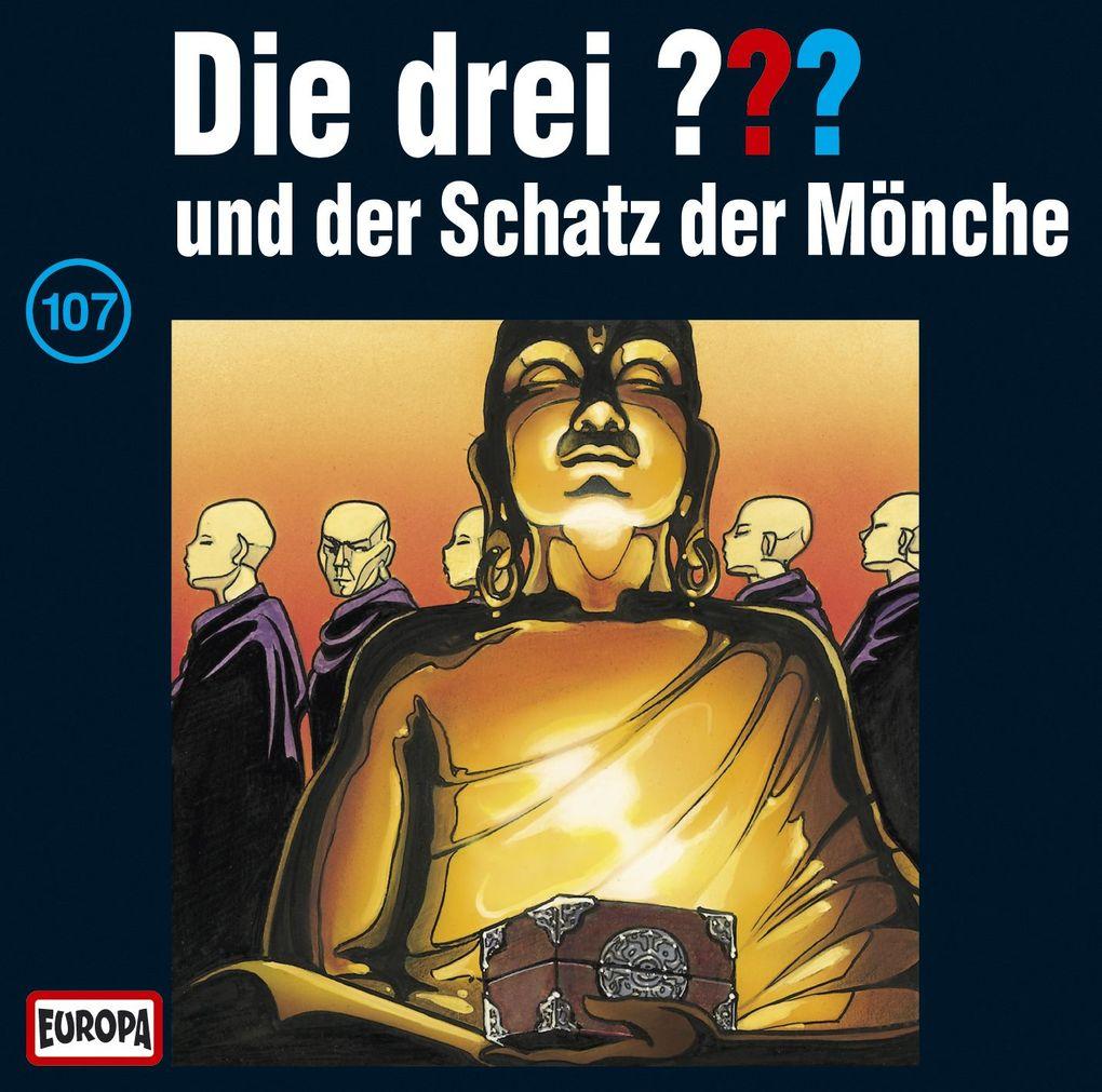 Die drei ??? 107 und der Schatz der Mönche (drei Fragezeichen) CD als Hörbuch