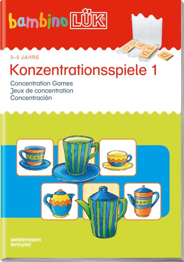 bambinoLÜK - Konzentrationsspiele 1 als Buch