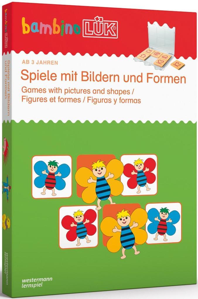 bambinoLÜK - Set Bilder und Formen als Buch