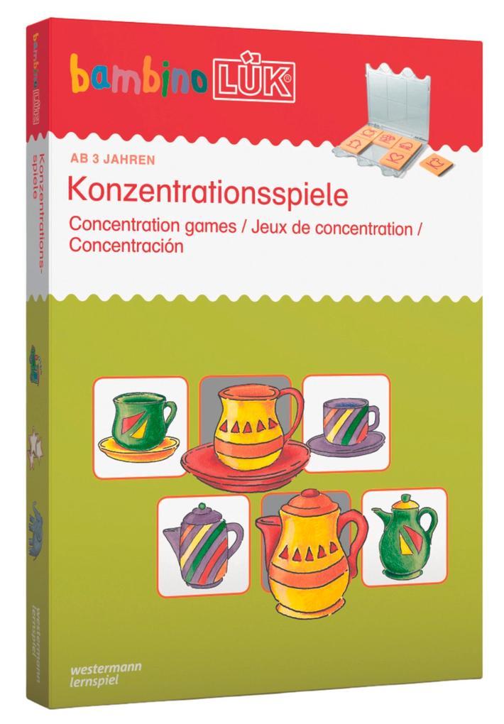bambinoLÜK - Set Konzentrationsspiele als Buch