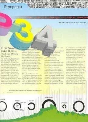 Perspecta 34: Temporary Achitecture als Taschenbuch