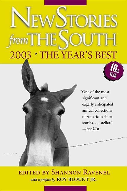 New Stories from the South: The Year's Best, 2003 als Taschenbuch