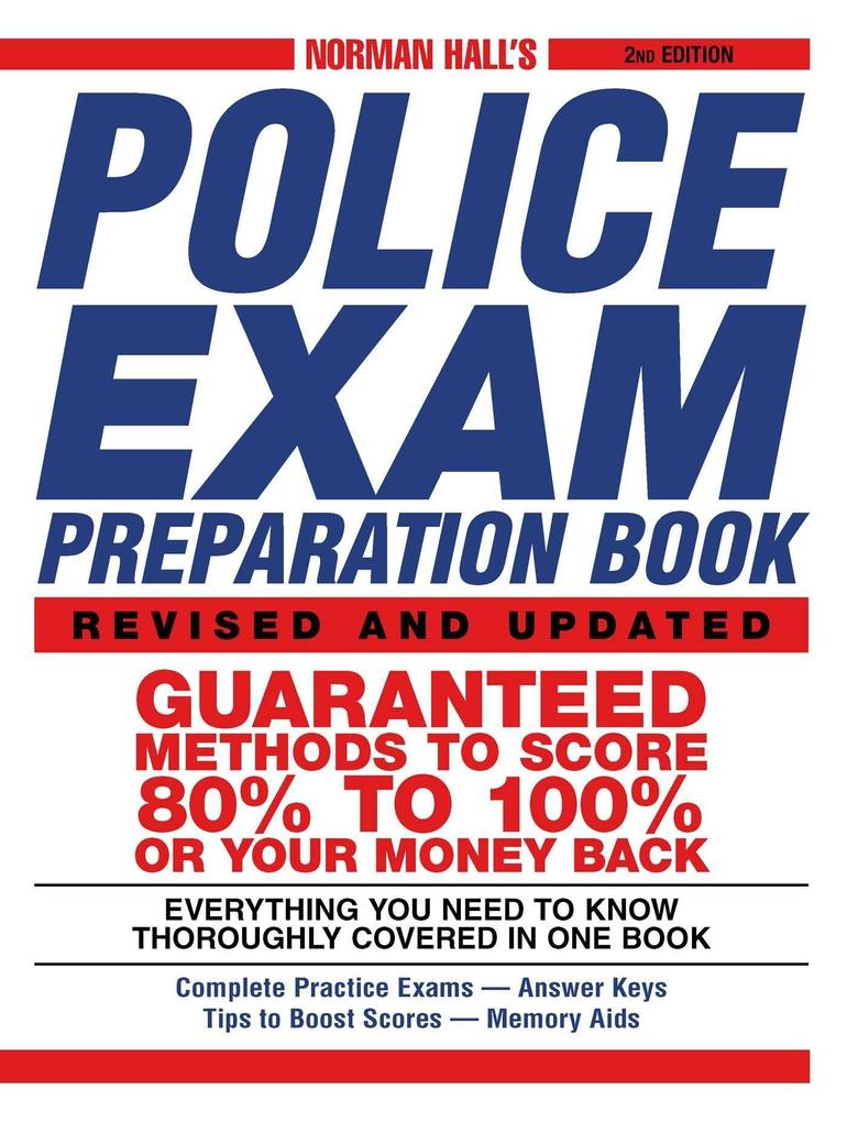 Norman Hall's Police Exam Preparation Book als Taschenbuch