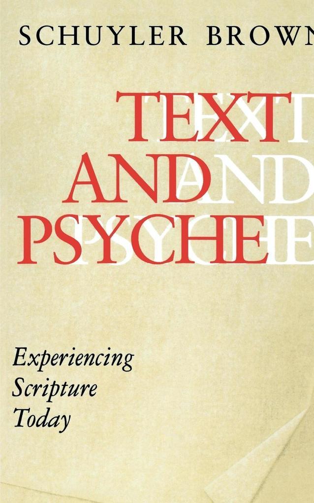 Text and Psyche als Taschenbuch