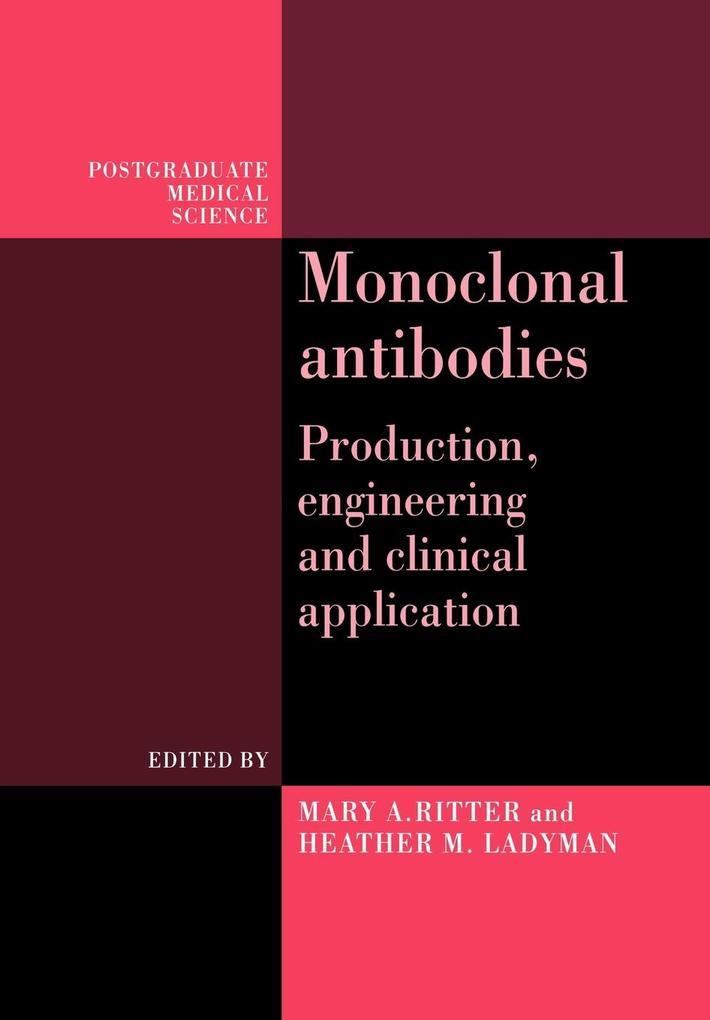 Monoclonal Antibodies als Taschenbuch