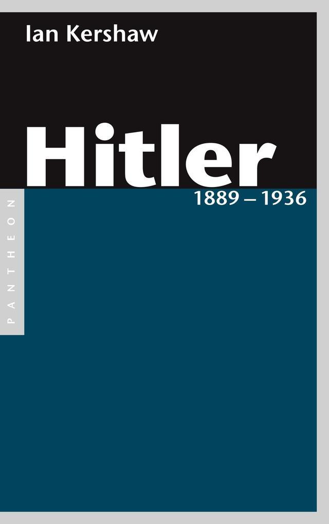 Hitler 1889 - 1936 als eBook