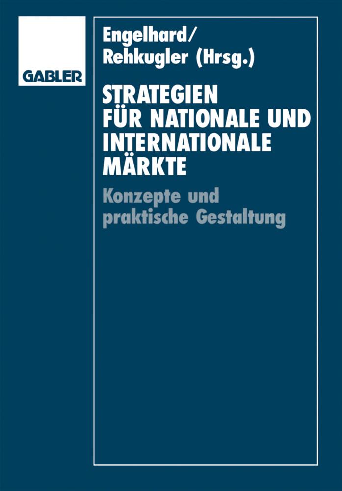 Strategien für nationale und internationale Märkte als Buch (kartoniert)