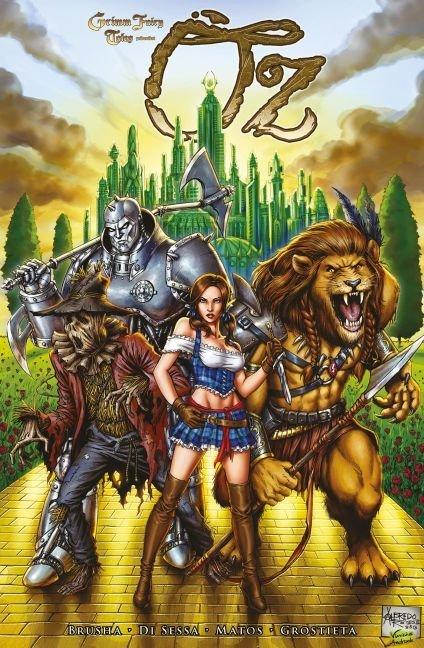 Grimm Fairy Tales präsentiert: Oz Bd. 1 als Taschenbuch von Joe Brusha