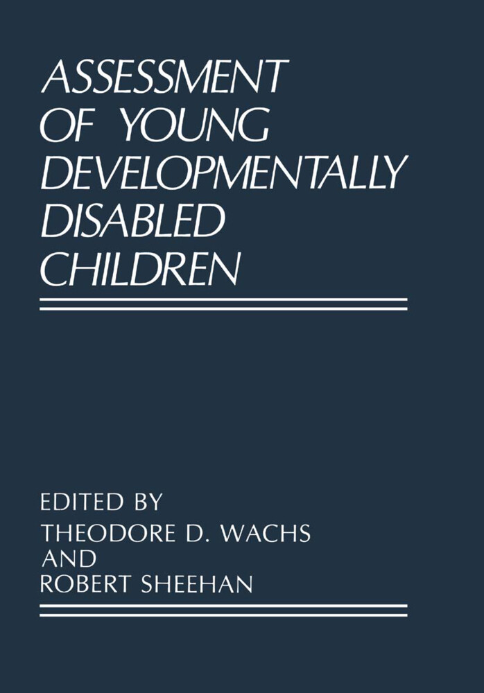 Assessment of Young Developmentally Disabled Children als Buch