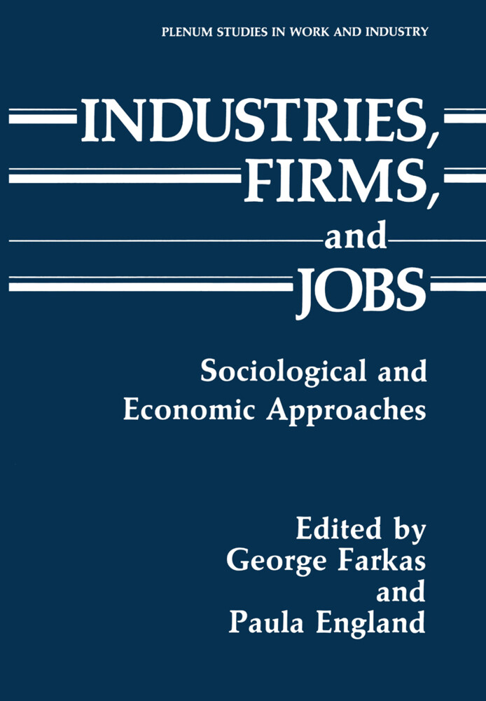 Industries, Firms, and Jobs als Buch