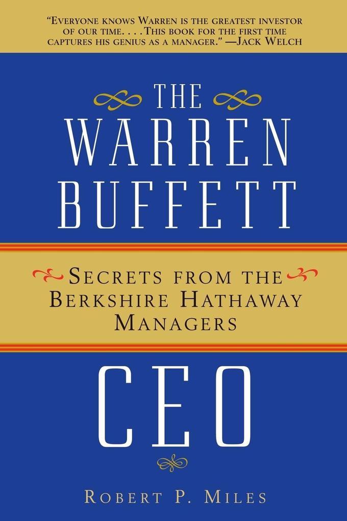 Warren Buffett CEO P als Taschenbuch