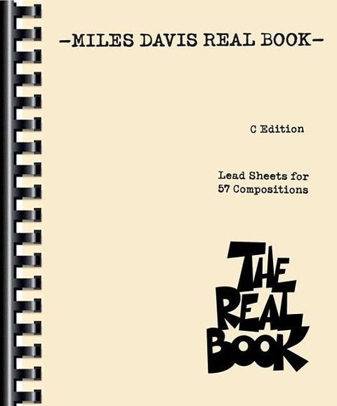 Miles Davis Real Book als Taschenbuch