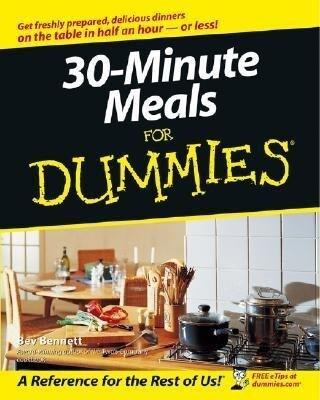 30-Minute Meals for Dummies als Taschenbuch