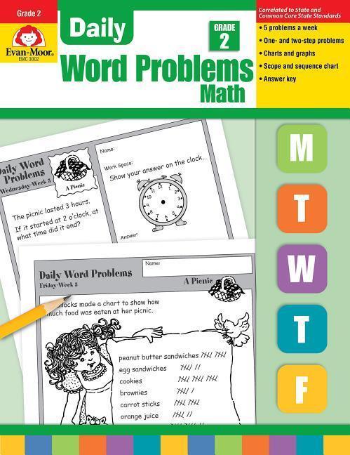 Daily Word Problems, Grade 2 als Taschenbuch