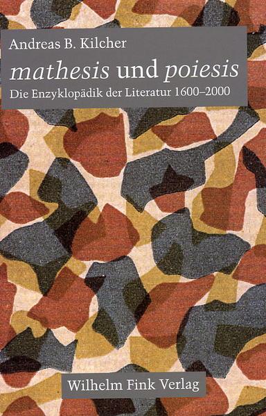 mathesis und poiesis als Buch