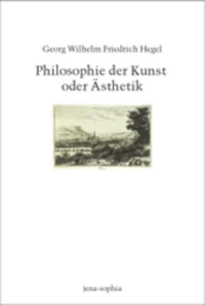 Philosophie der Kunst oder Ästhetik als Buch