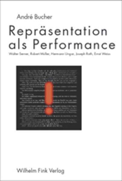 Repräsentation als Performanz als Buch