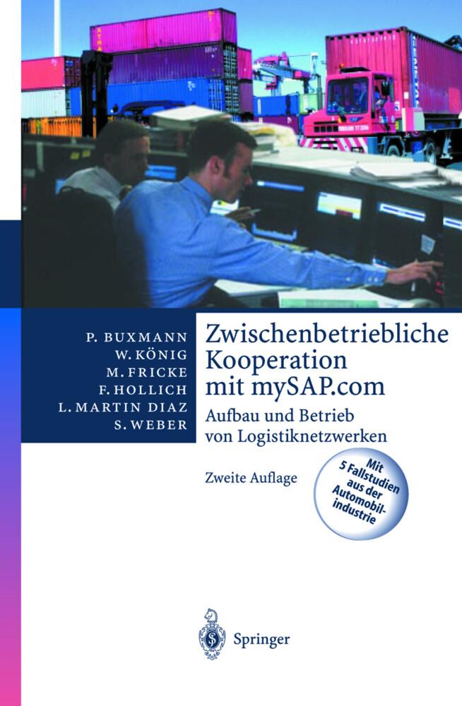 Zwischenbetriebliche Kooperation mit mySAP.com als Buch