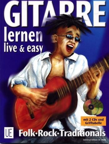 Gitarre live und easy I. Songbegleitung. Inkl. 2 CDs als Buch