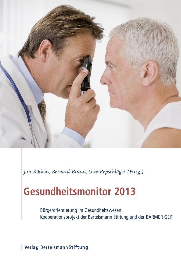 Gesundheitsmonitor 2013 als eBook von