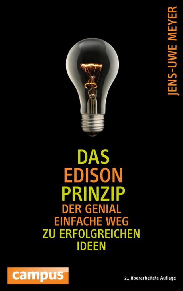 Das Edison-Prinzip als eBook von Jens-Uwe Meyer