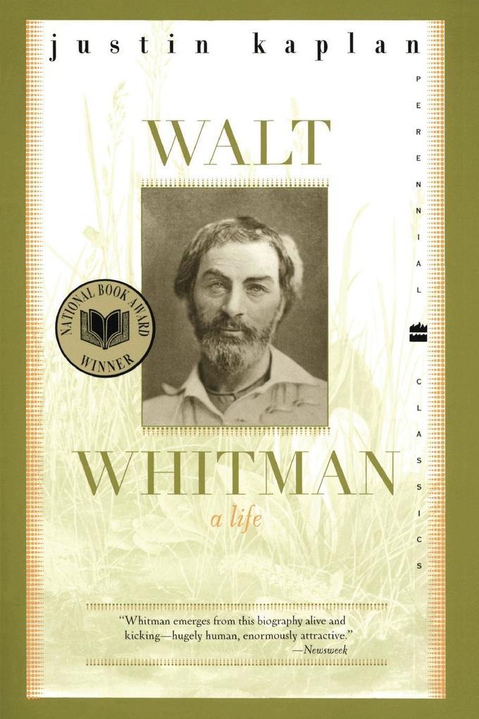Walt Whitman: A Life als Taschenbuch