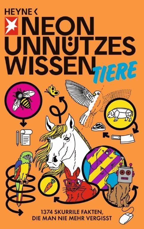 Unnützes Wissen Tiere als Taschenbuch