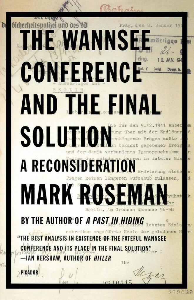 The Wannsee Conference and the Final Solution als Buch