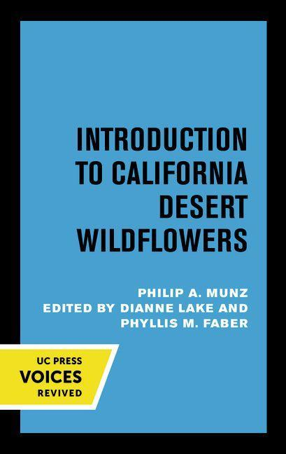 Introduction to Shore Wildflowers of California, Oregon, and Washington als Taschenbuch