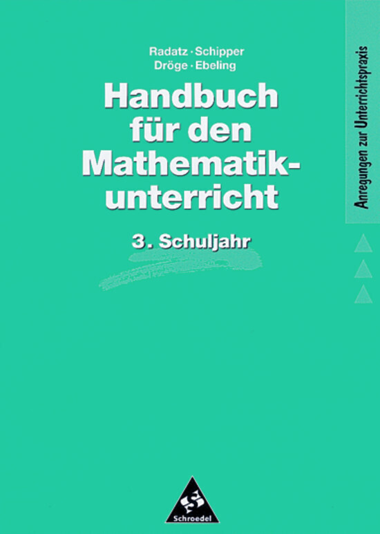 Handbuch für den Mathematikunterricht. 3. Schuljahr als Buch