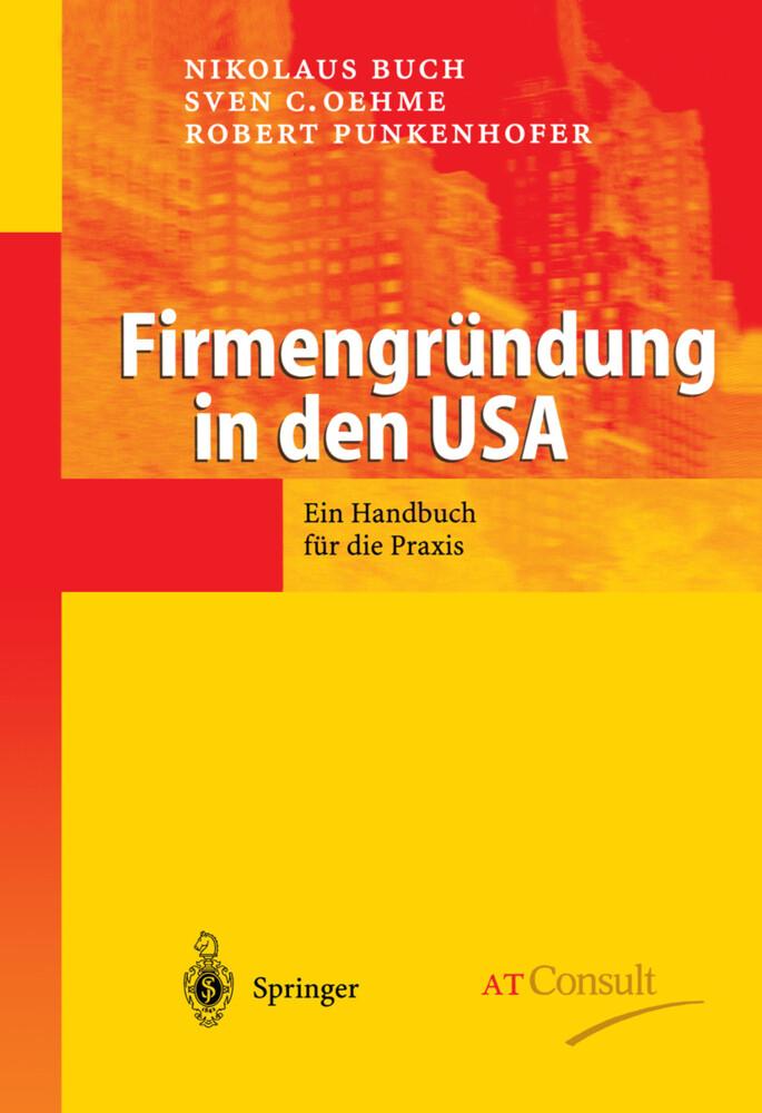 Firmengründung in den USA als Buch