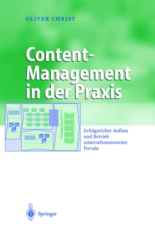 Content-Management in der Praxis als Buch