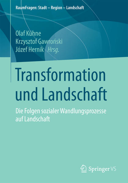 Transformation und Landschaft als Buch