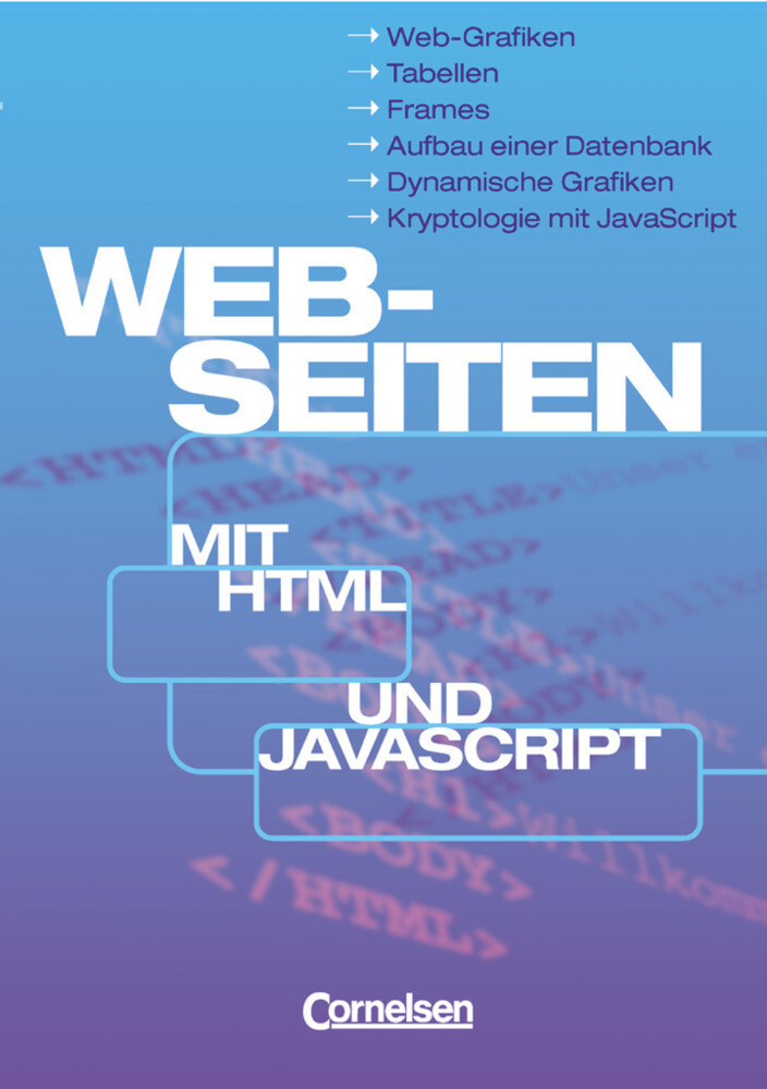 Web-Seiten mit HTML und JavaScript als Buch