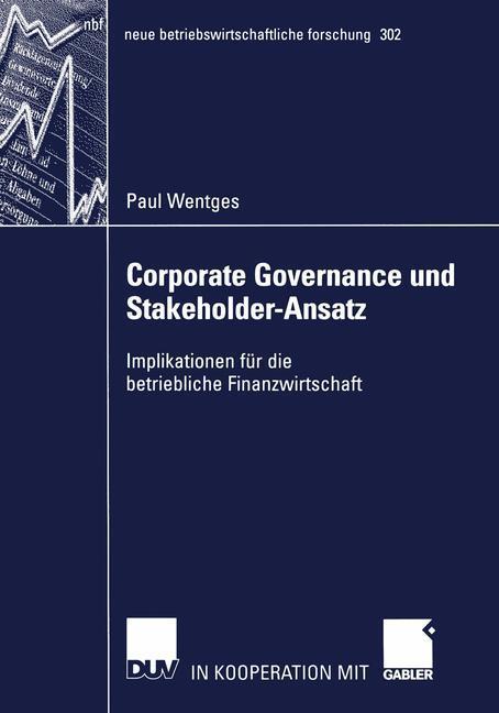 Corporate Governance und Stakeholder-Ansatz als Buch