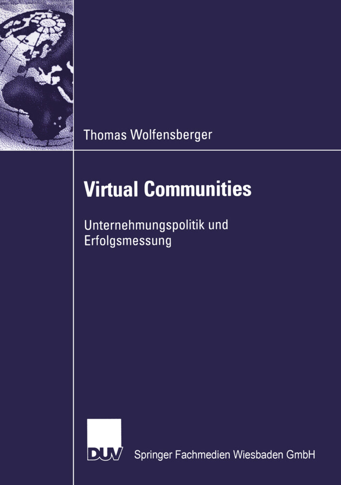 Virtual Communities als Buch
