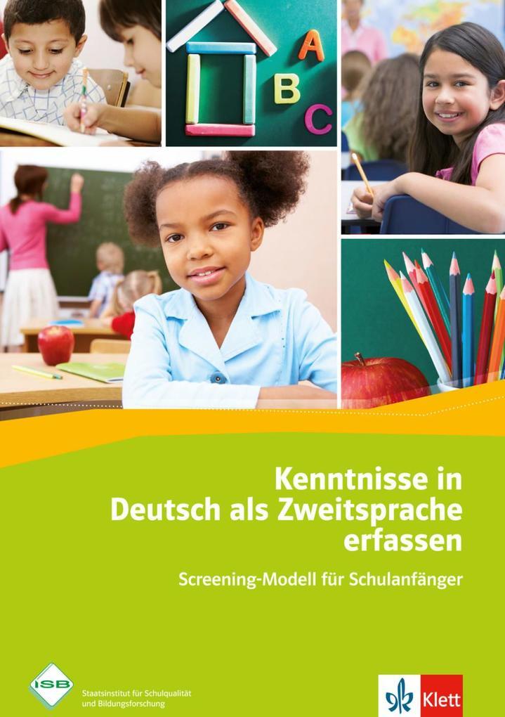 Kenntnisse in Deutsch als Zweitsprache erfassen als Buch