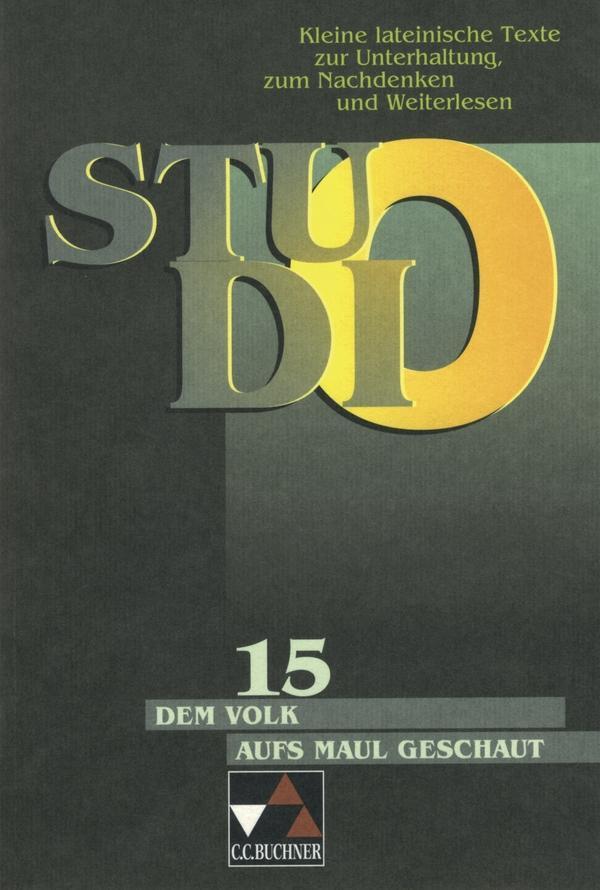 Studio 15. Dem Volk aufs Maul geschaut als Buch