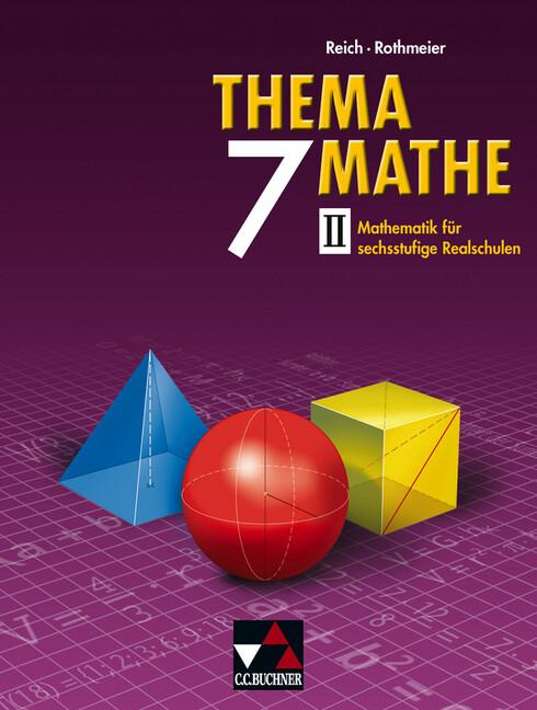 Thema Mathe 7/2 Neu als Buch