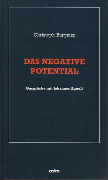 Das negative Potential als Buch