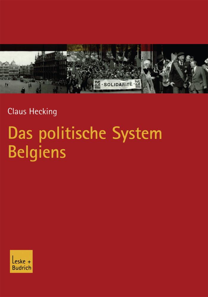 Das politische System Belgiens als Buch