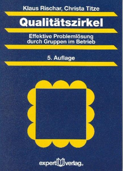 Qualitätszirkel als Buch