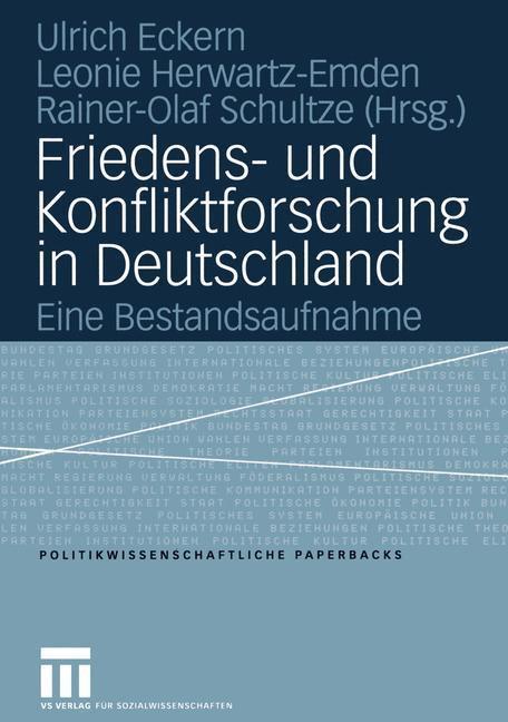 Friedens- und Konfliktforschung in Deutschland als Buch