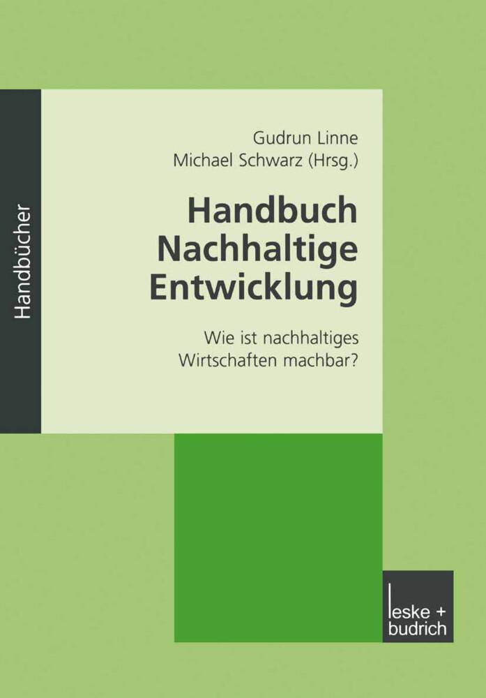 Handbuch Nachhaltige Entwicklung als Buch